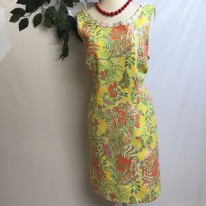 Lilly Pulitzer sleeveless dress.